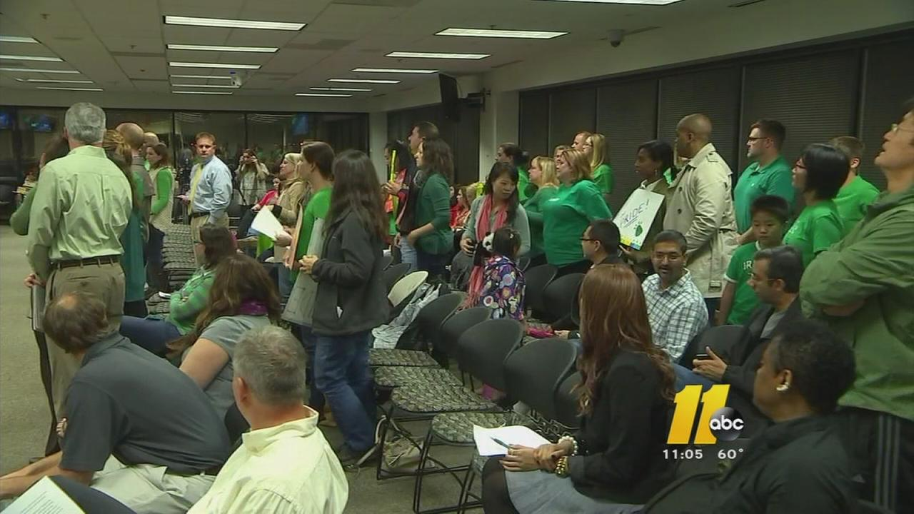 Wake parents get their say before school board