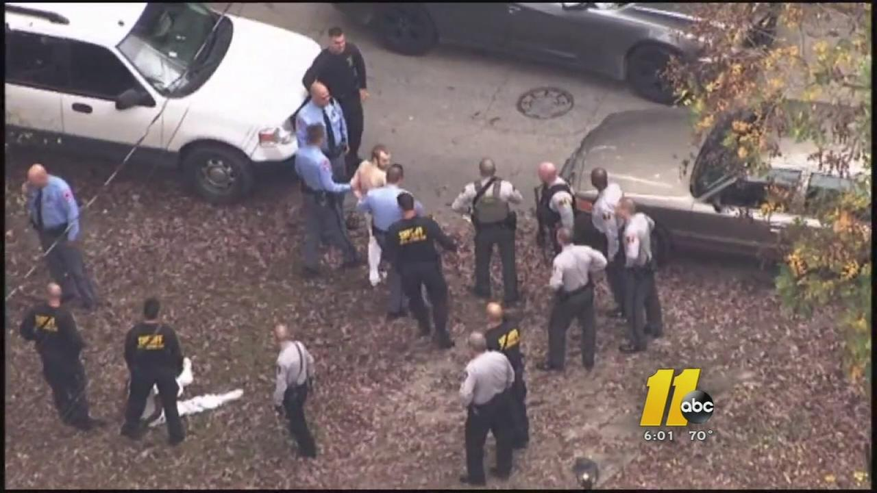 Escaped prisoners captured in Raleigh