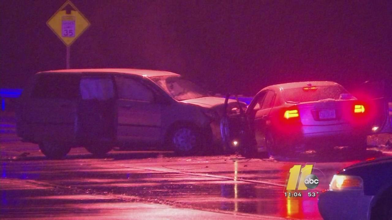 Children hurt in Raleigh crash