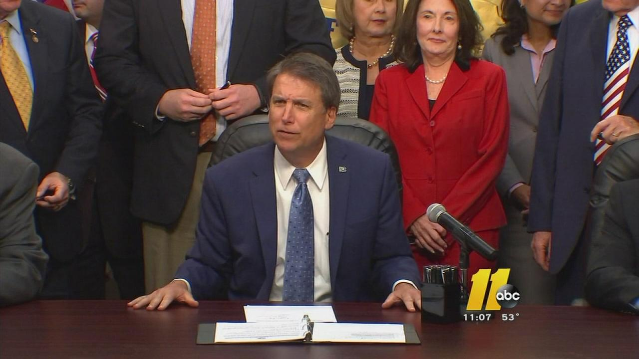 McCrory denies pay-to-play accusations