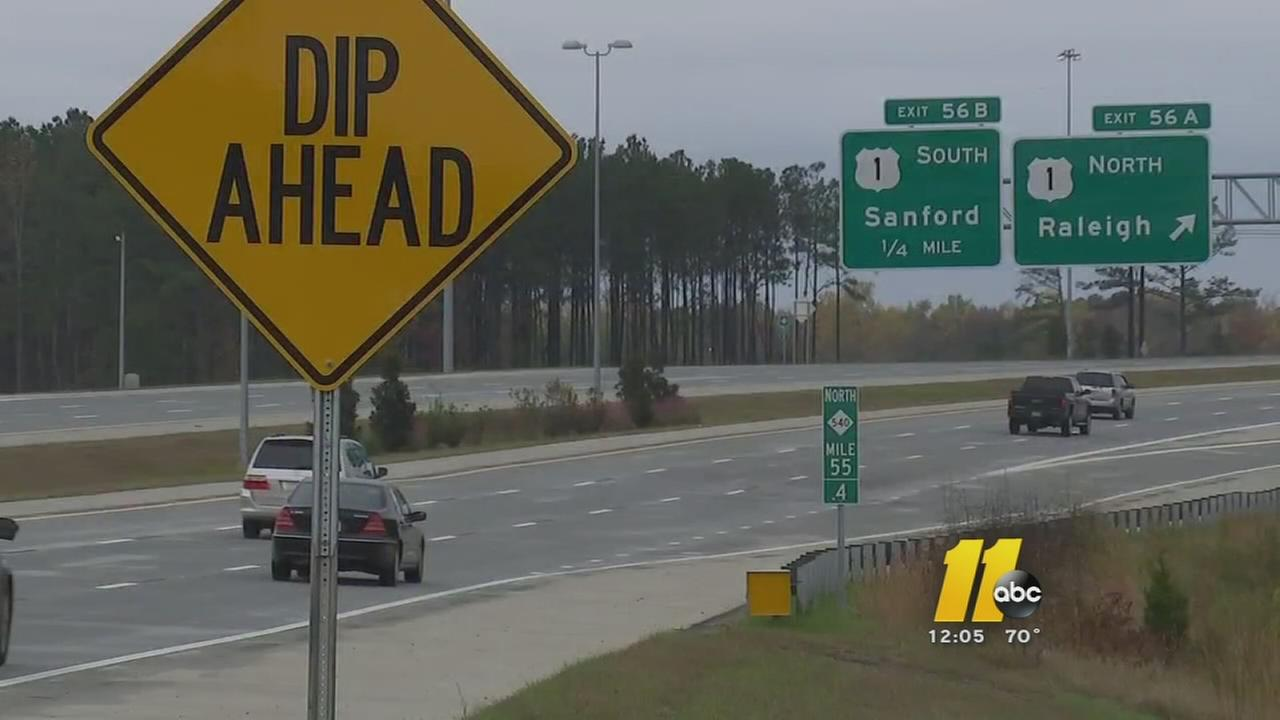 Repairs begin on Triangle Expressway - just 2 years after completion