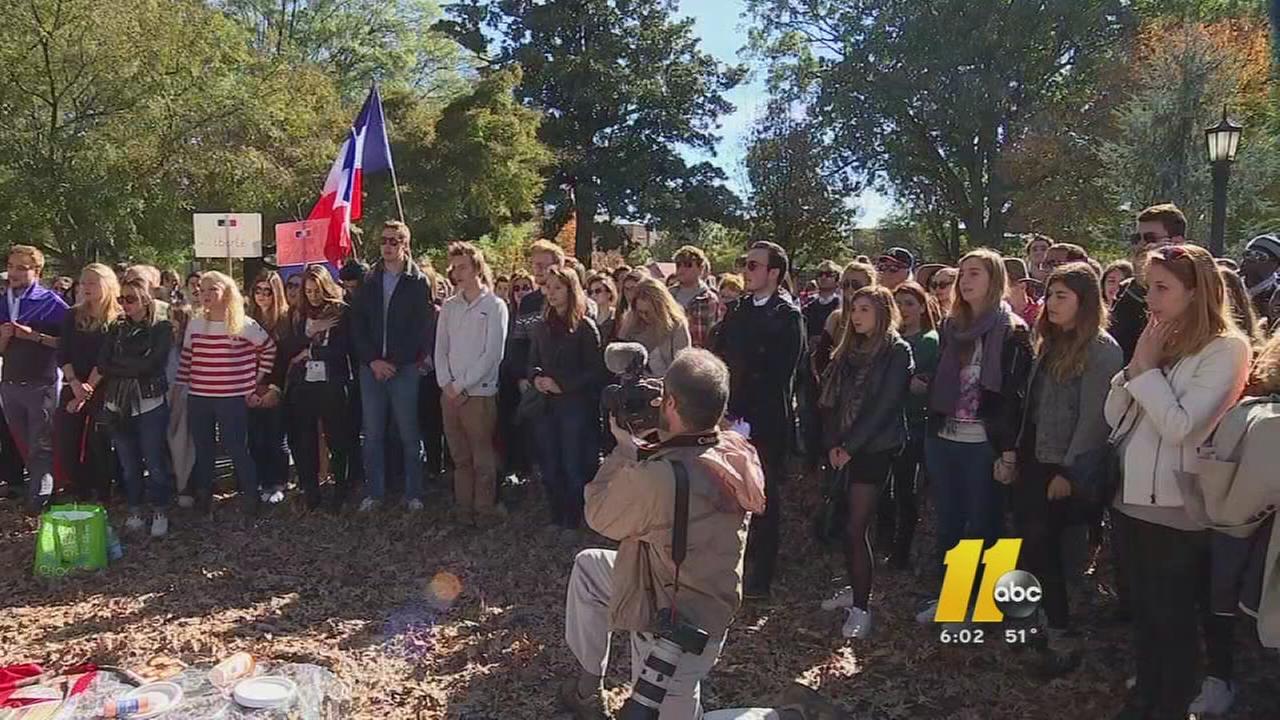 Moore Square vigil