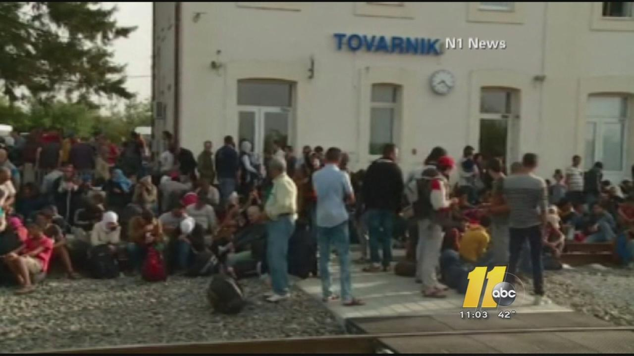 McCrory: NC will cease to accept Syrian refugees
