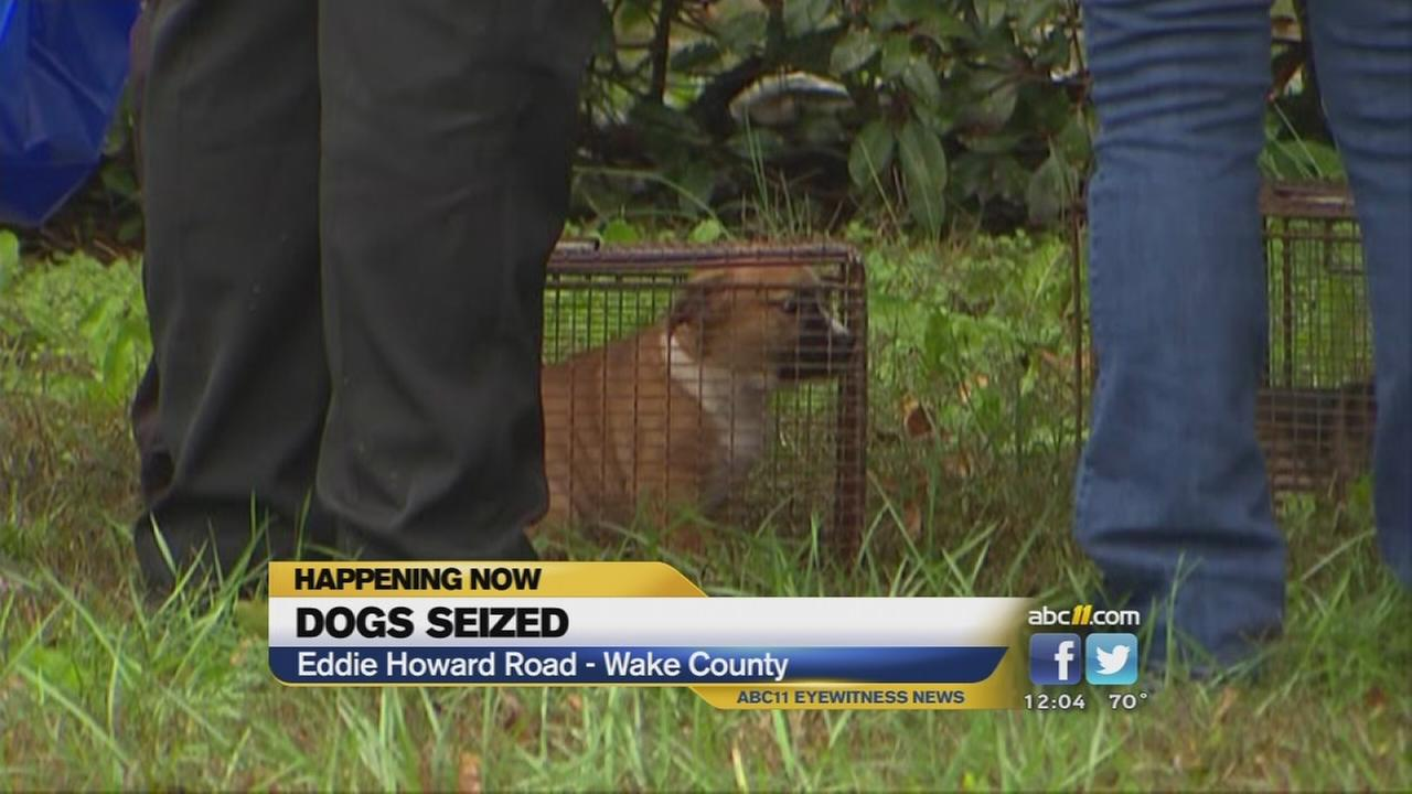 Dogs seized from Wake County home