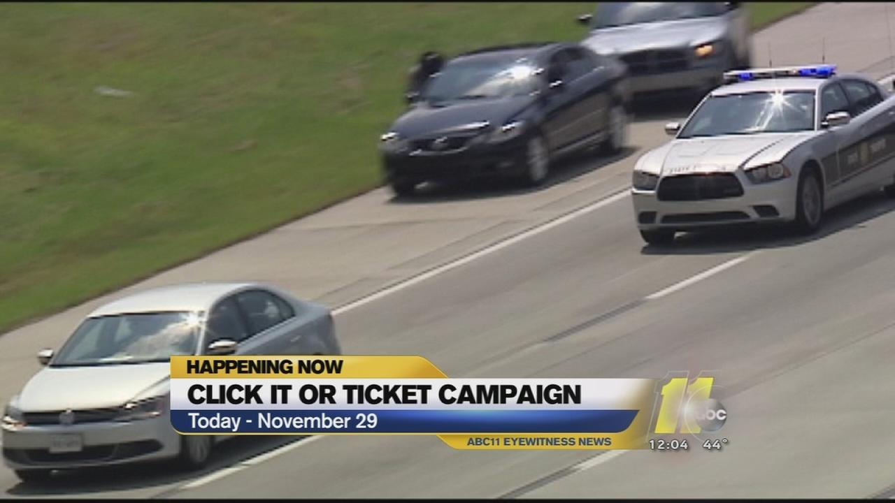Click It of Ticket campaign