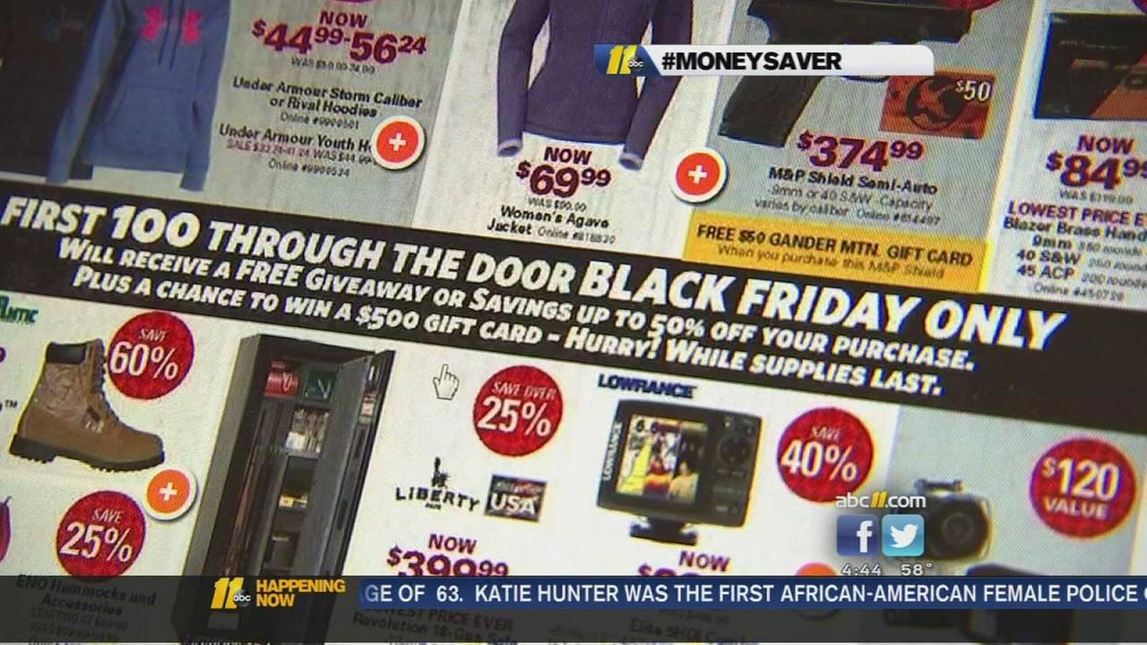 Retailers giving away freebies to lure in Black Friday shoppers