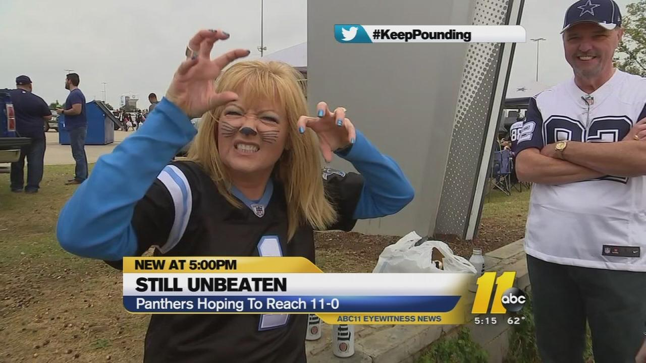 Panthers faithful make the trip to Texas