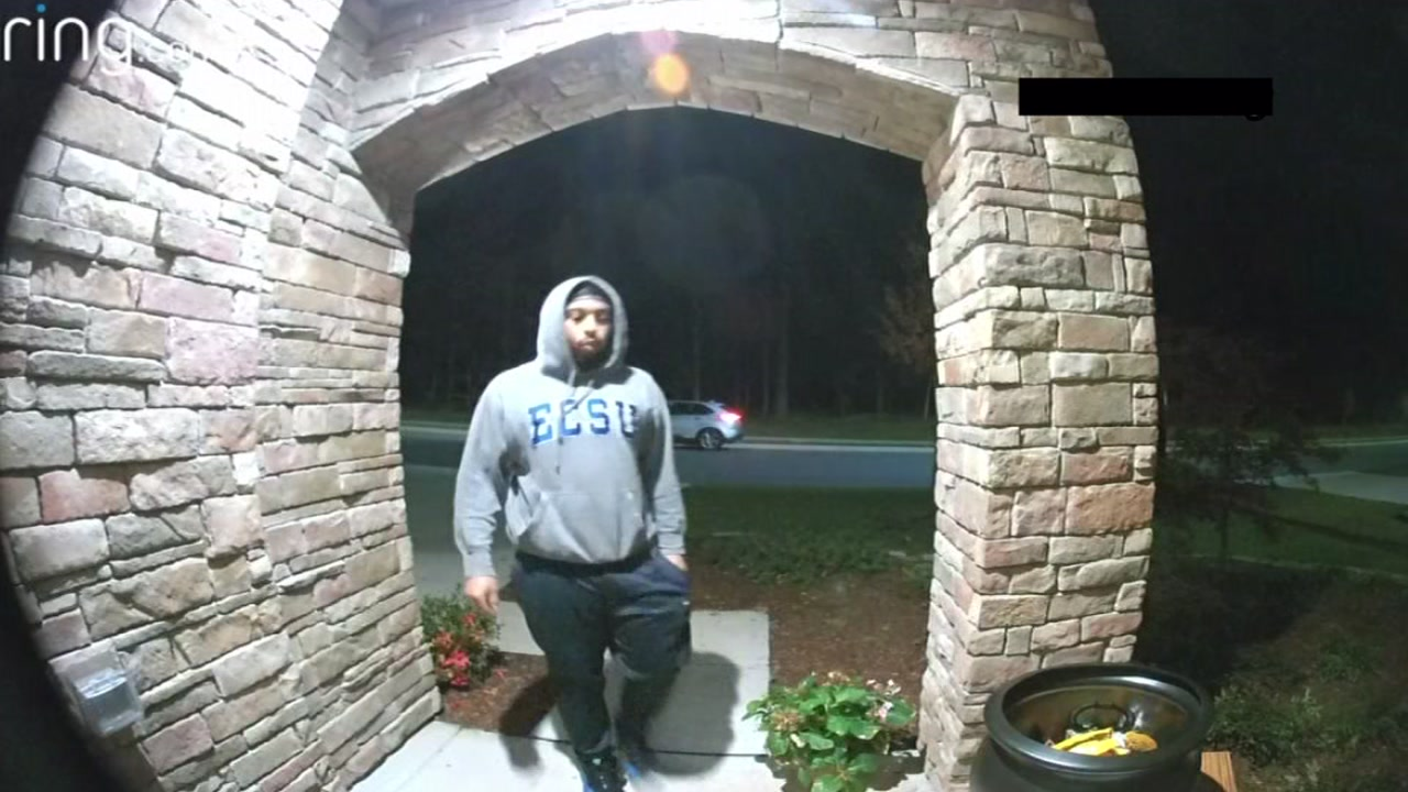 Durham candy thief caught on camera