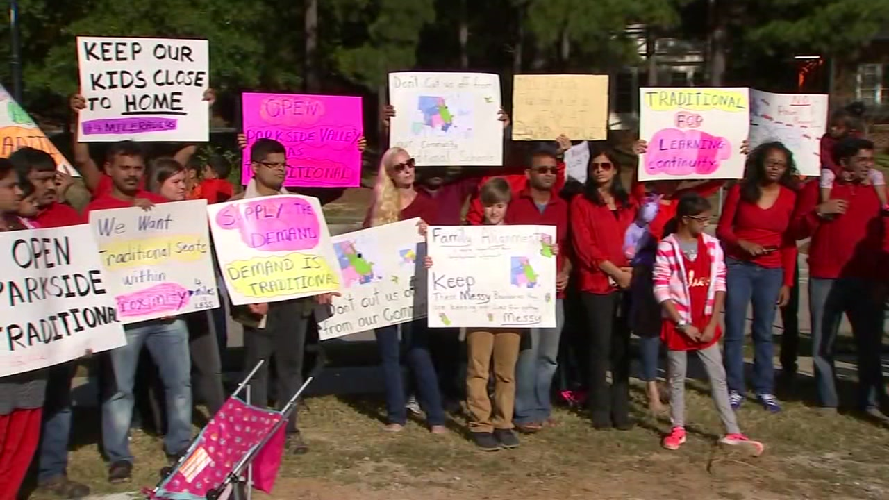 Wake County parents protest school district reassignment plan