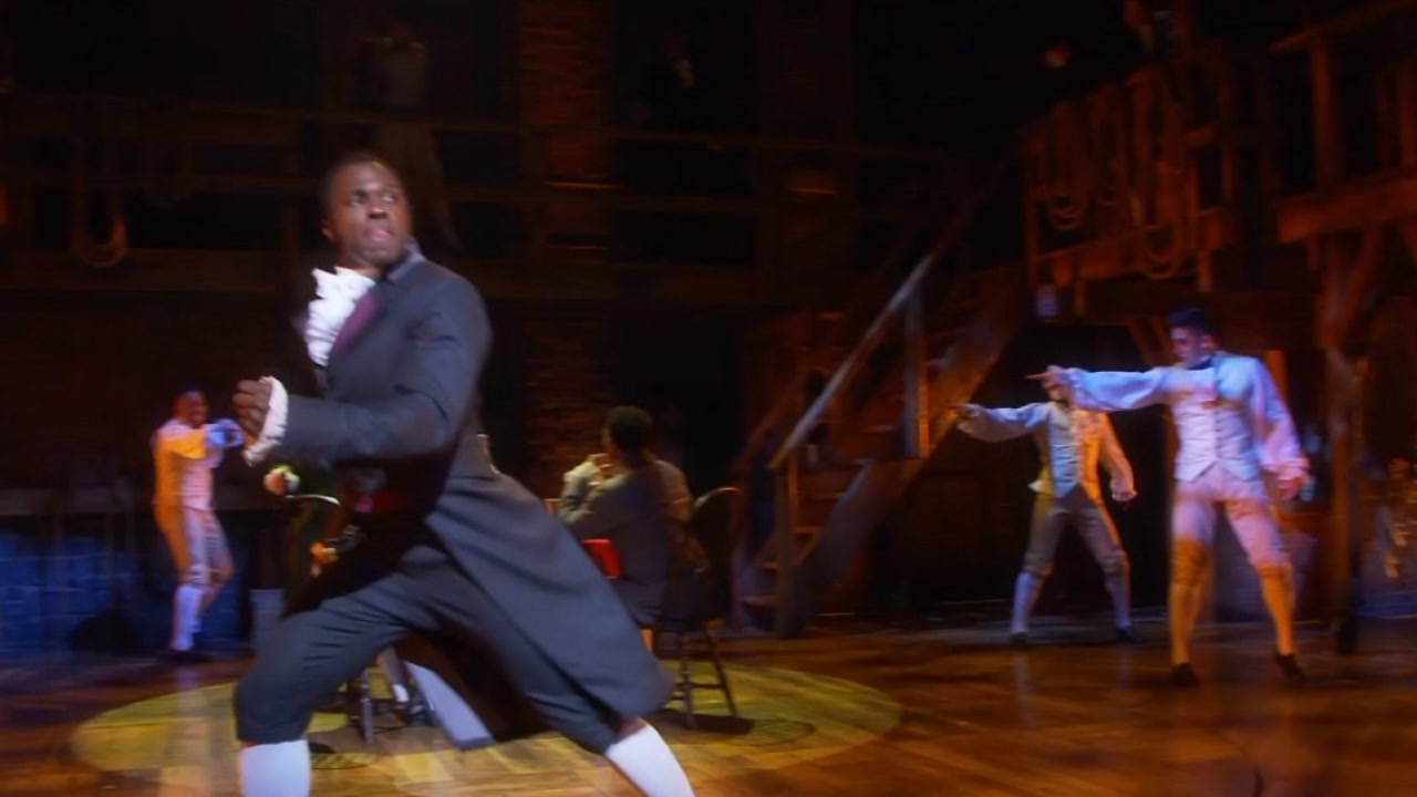 Hamilton runs November 6 - December 2 at the DPAC.