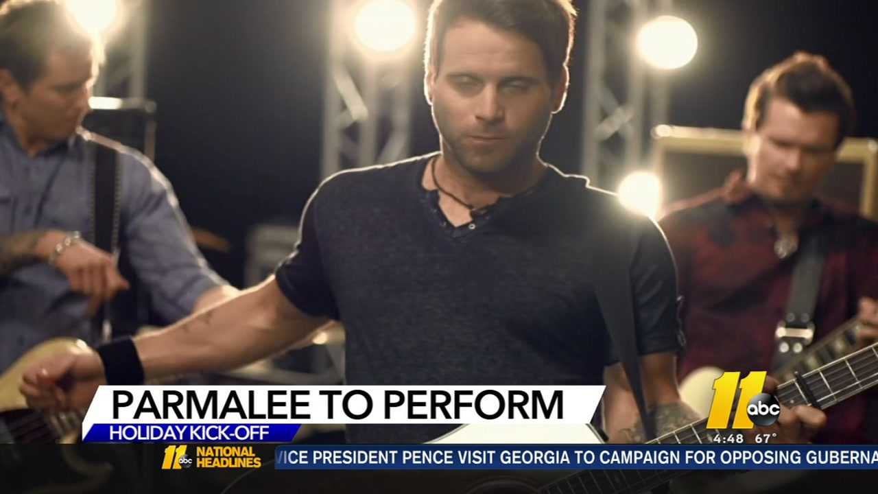 Parmalee to perform at ABC11 Leithcars.com Raleigh Christmas Parade