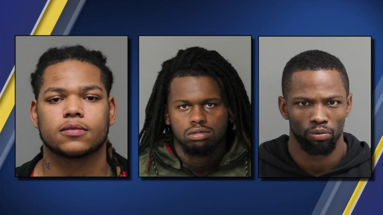 Garner police have arrested three men have been in connection to a string of car break-ins.