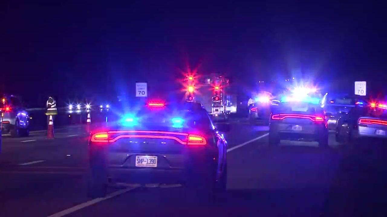Troopers say the woman was struck and killed after she tried to cross 540.
