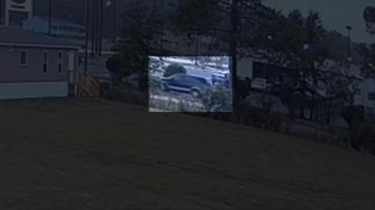 Police and the FBI released surveillance video of the SUV wanted in connection with the kidnapping of a 13-year-old girl.