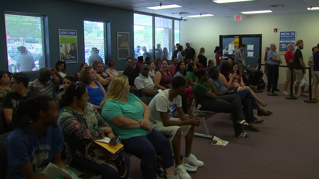 DMV chief summoned to explain long lines.
