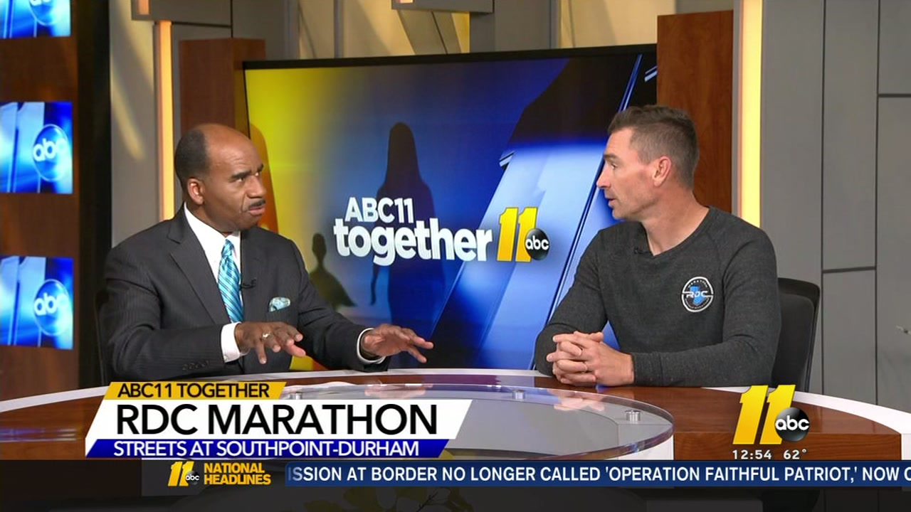 The RDC Marathon begins in Durham November 10-11 to raise money for ALS.