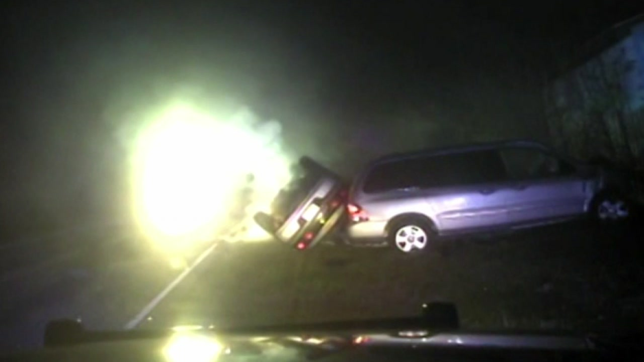 Wake Forest Police release video of deadly chase and crash.