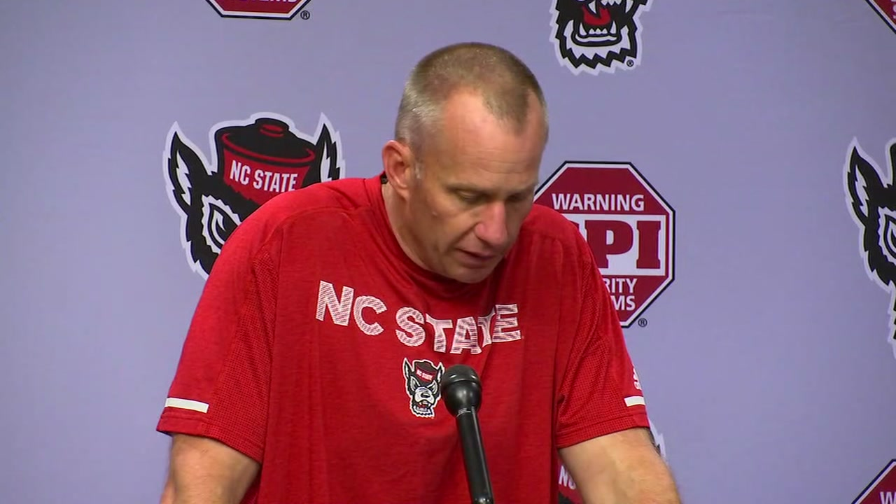 Dave Doeren said to be disappointed was a understatement after his Wolfpack played poorly on national TV.