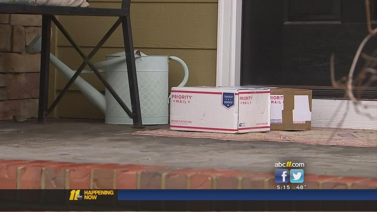Preventing package theft