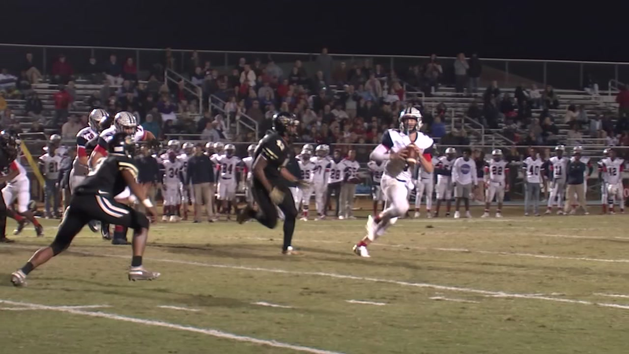 Terry Sanford beats Grays Creek 31-28 in the Game of the Week.