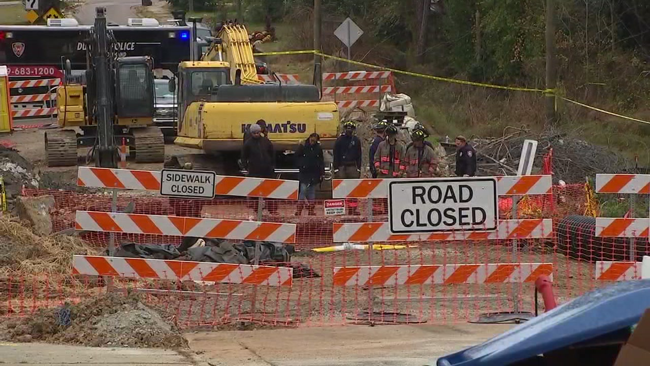 Authorities are investigating after a mans body was found at a construction site in Durham on Monday morning.