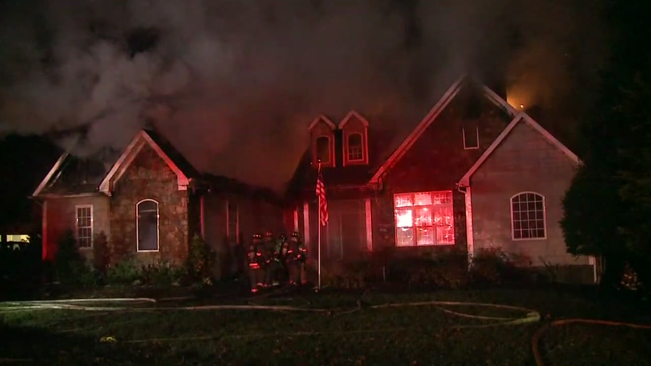 A raging fire gutted a Durham home Tuesday.