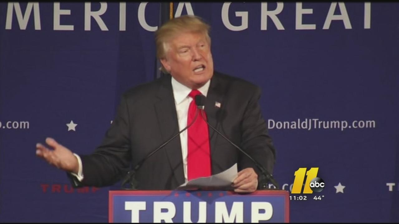 Trumps latest comments called hateful in Durham