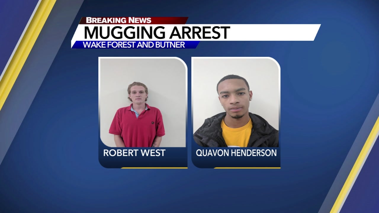 Robert West and Quavon Henderson are behind bars.