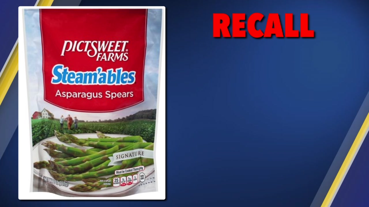 The Picsweet Company has recalled 1,872 cases of their 8-ounce Steamables Asparagus Spears because they may have been contaminated with Listeria monocytogenes.