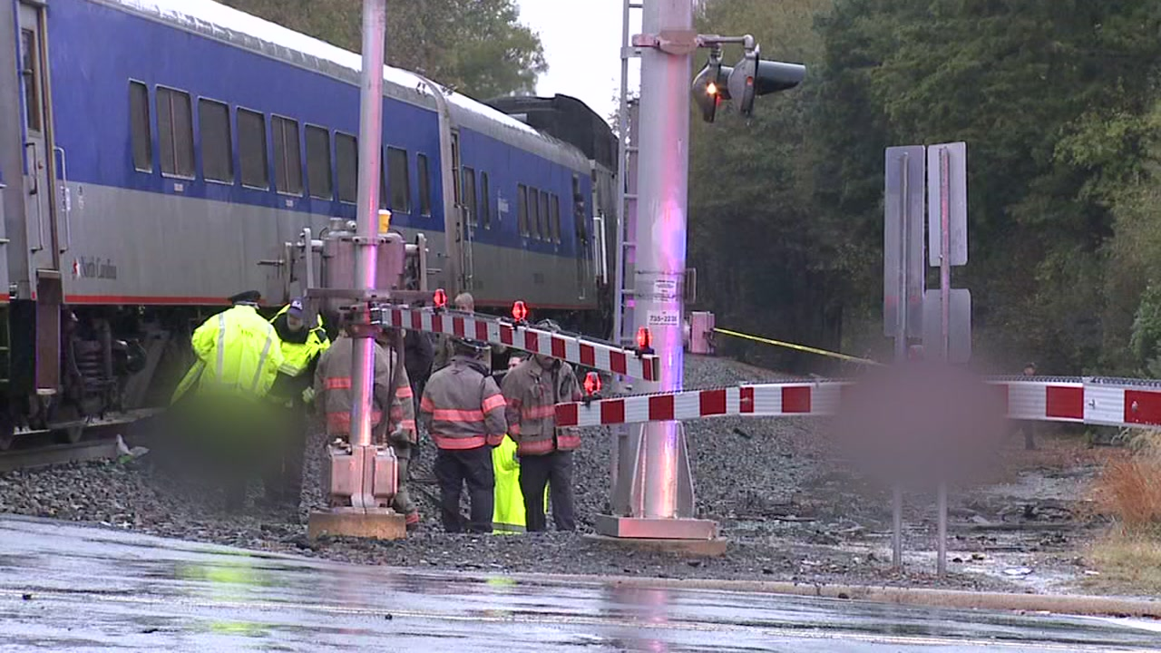 An Amtrak train hit and killed pedestrian near the intersection of Swift Avenue and West Pettigrew Street in Durham.
