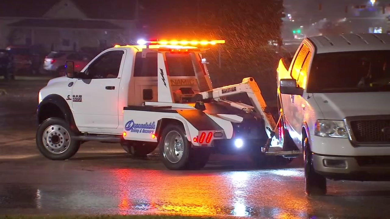 A tow truck driver said another driver rammed his truck multiple times in Wake County.