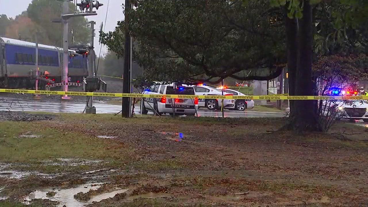A pedestrian was hit by a train near Duke East Campus.