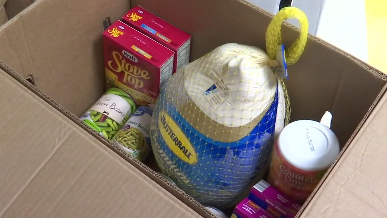 Cumberland County group distributes boxes of love for Thanksgiving