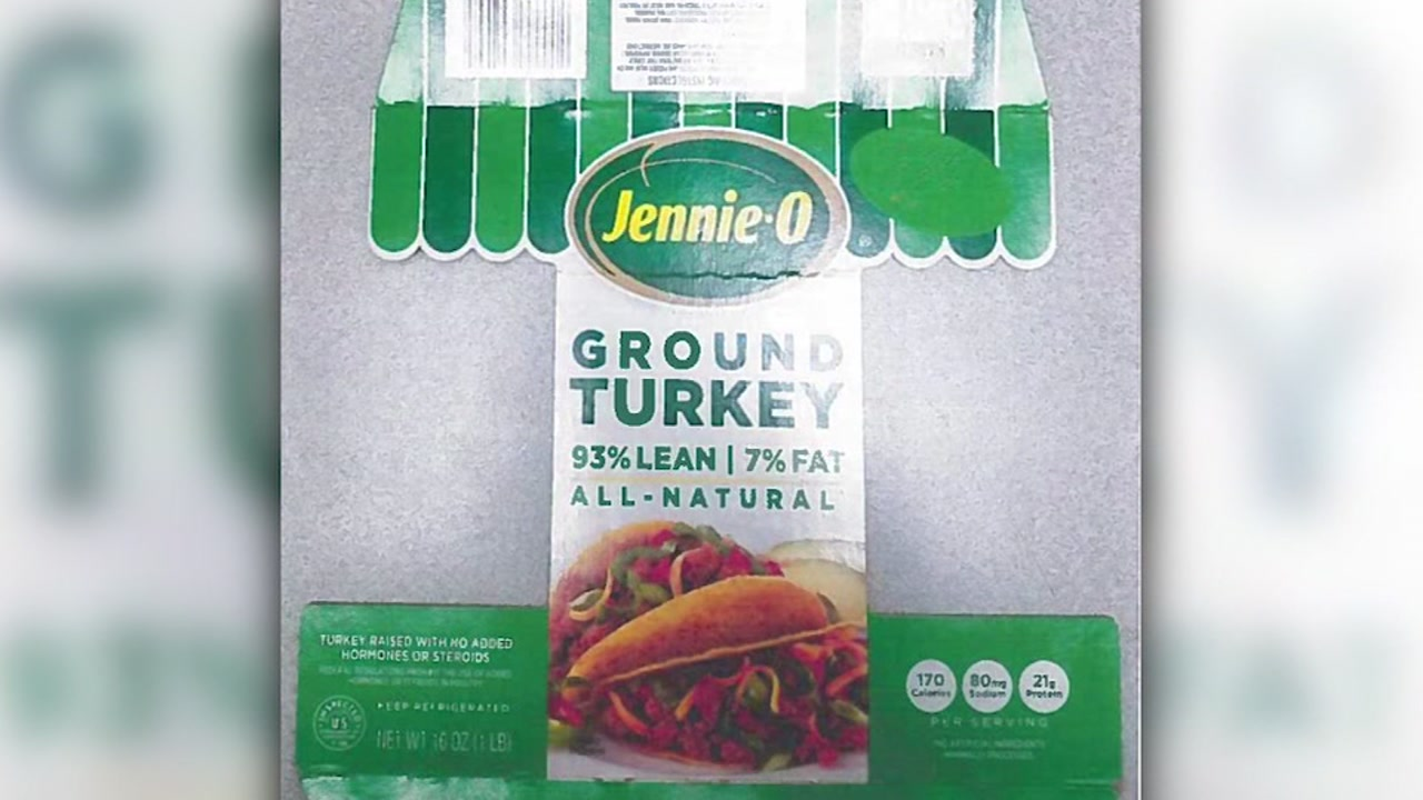 91,000 pounds of turkey recalled over salmonella concerns
