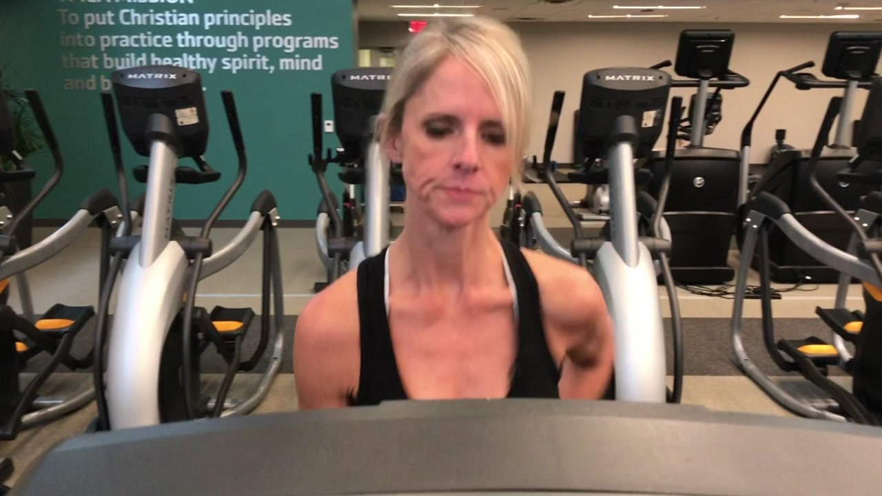You may be used to seeing Kim Deaner sharing traffic in the morning but when shes not on-air, shes at the gym.
