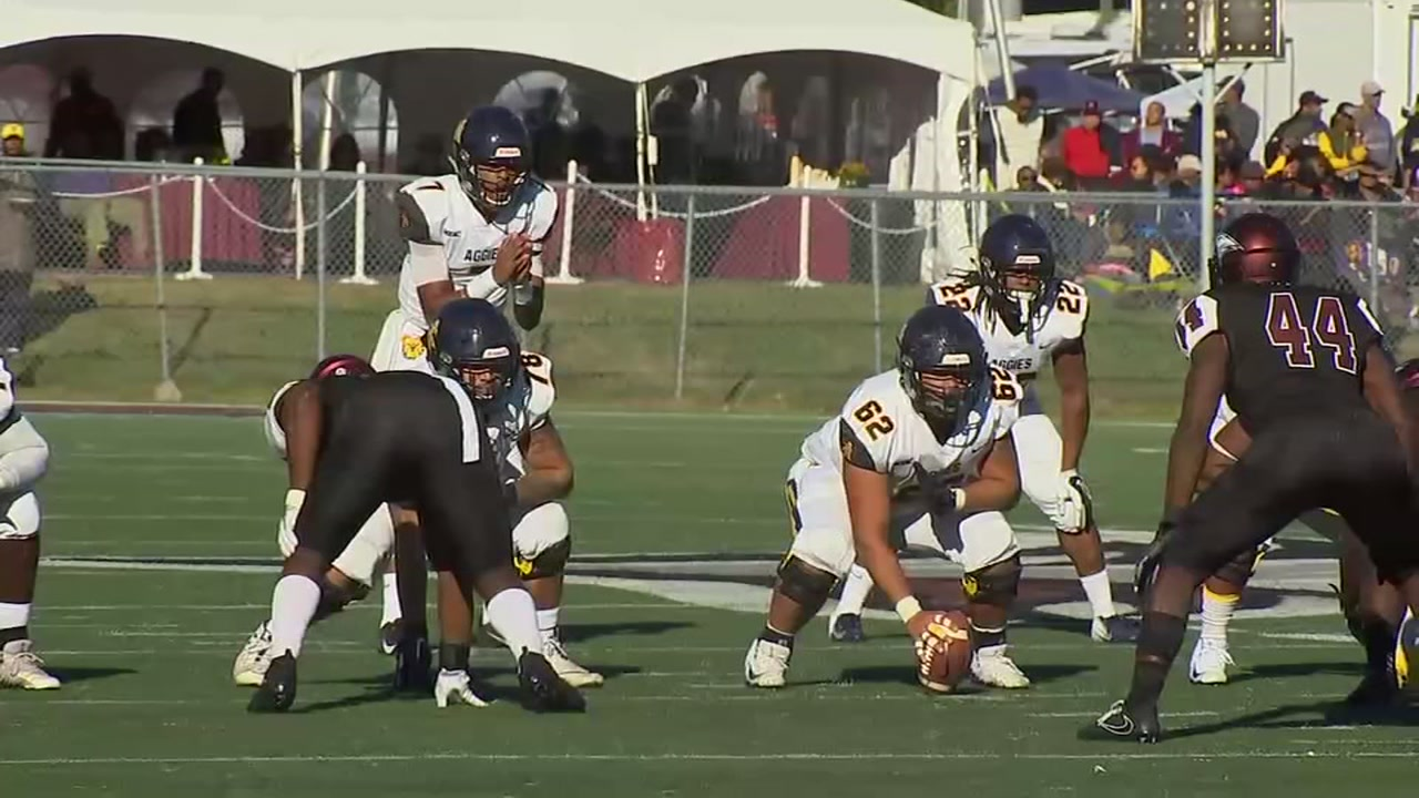 NC A&T clinches MEAC crown, shuts out NC Central, 45-0