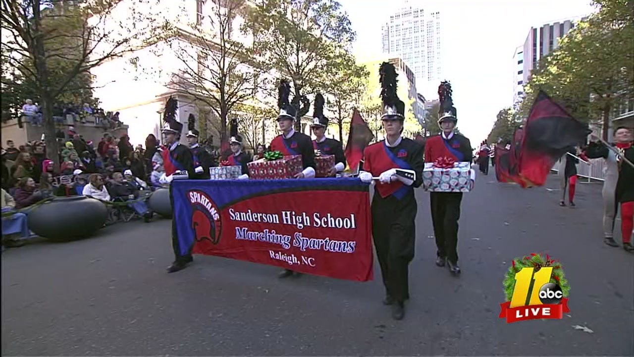 Watch the full Raleigh Christmas Parade right here.