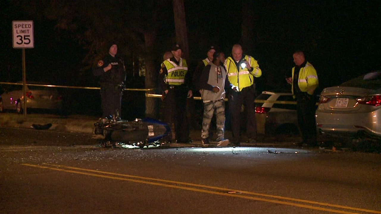 Investigation underway after motorcyclist killed in crash in Durham