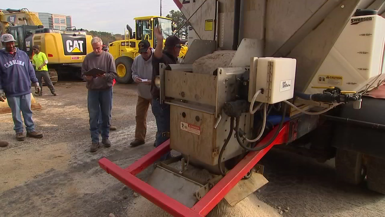 North Carolina Department of Transportation is getting prepared for winter weather.