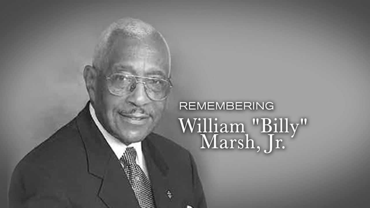 William A. Billy Marsh, Jr., has died, according to a statement from Congressman G.K. Butterfield.