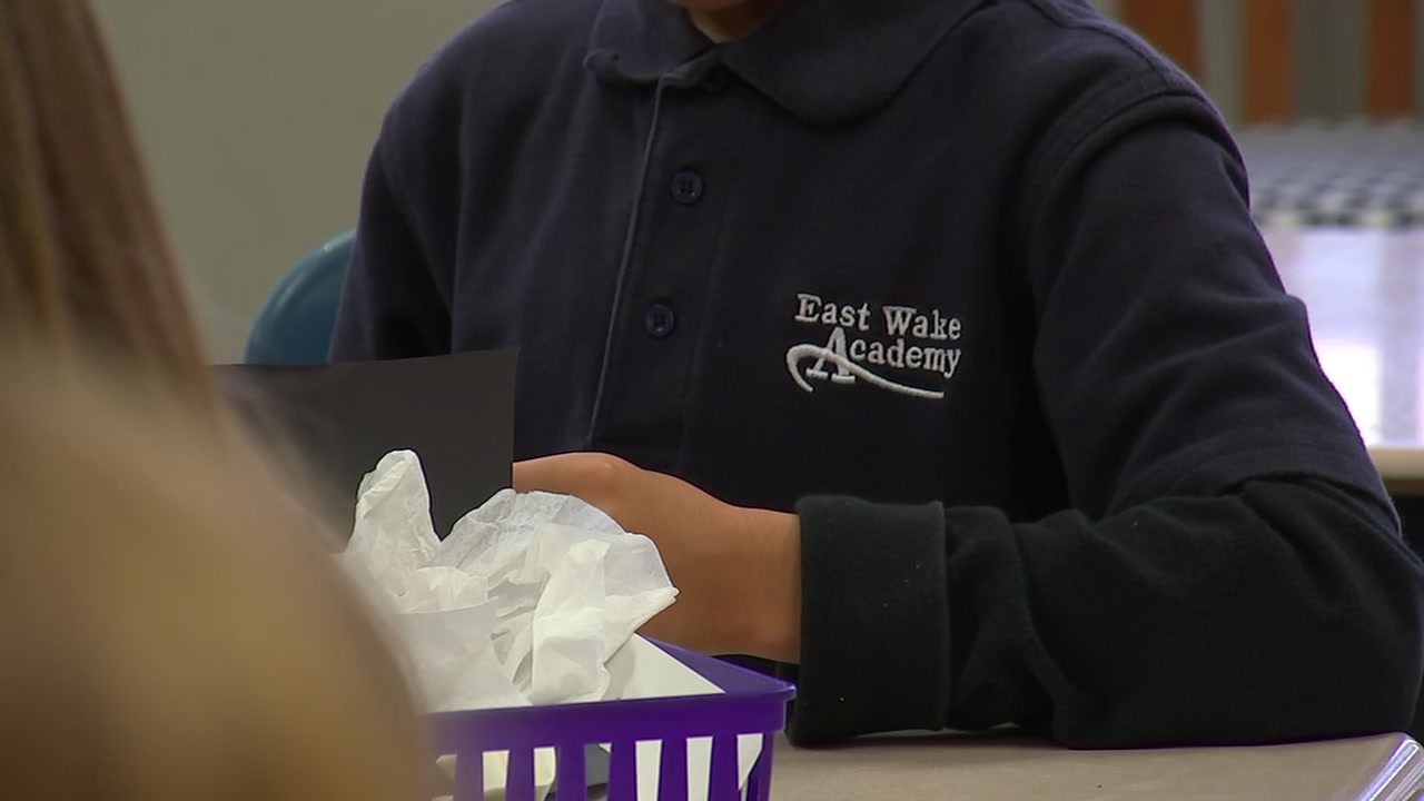 East Wake Academy gets extra safety measure.