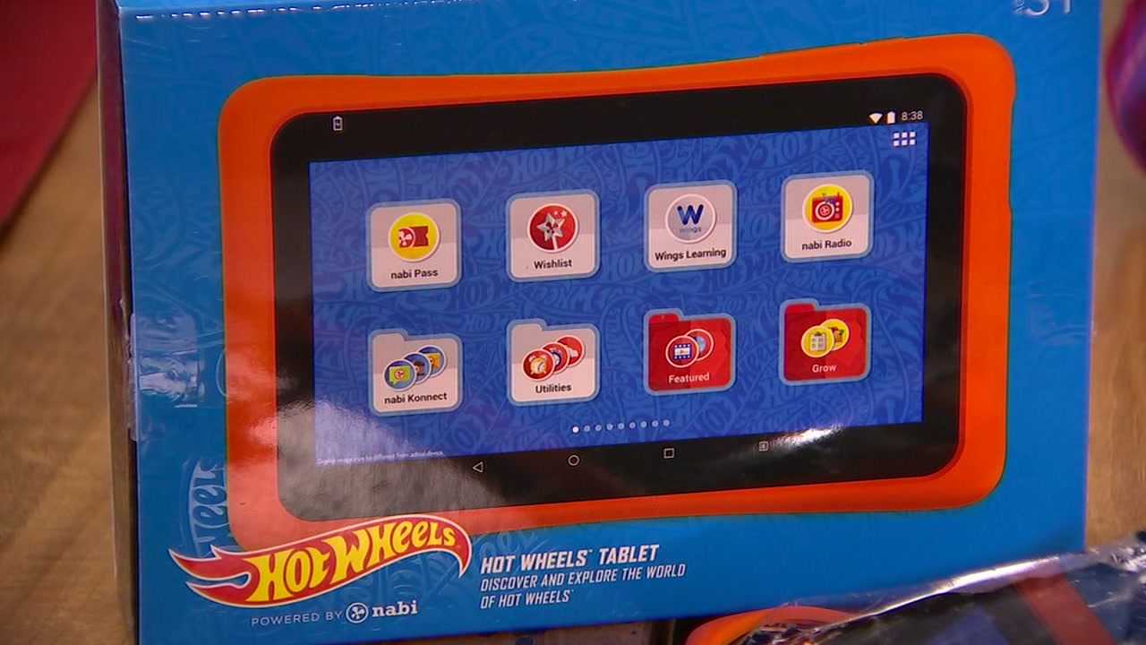 Tablets are a hot item on kids Christmas lists and one Cumberland County family is speaking out after one of their kids tablets had a problem.