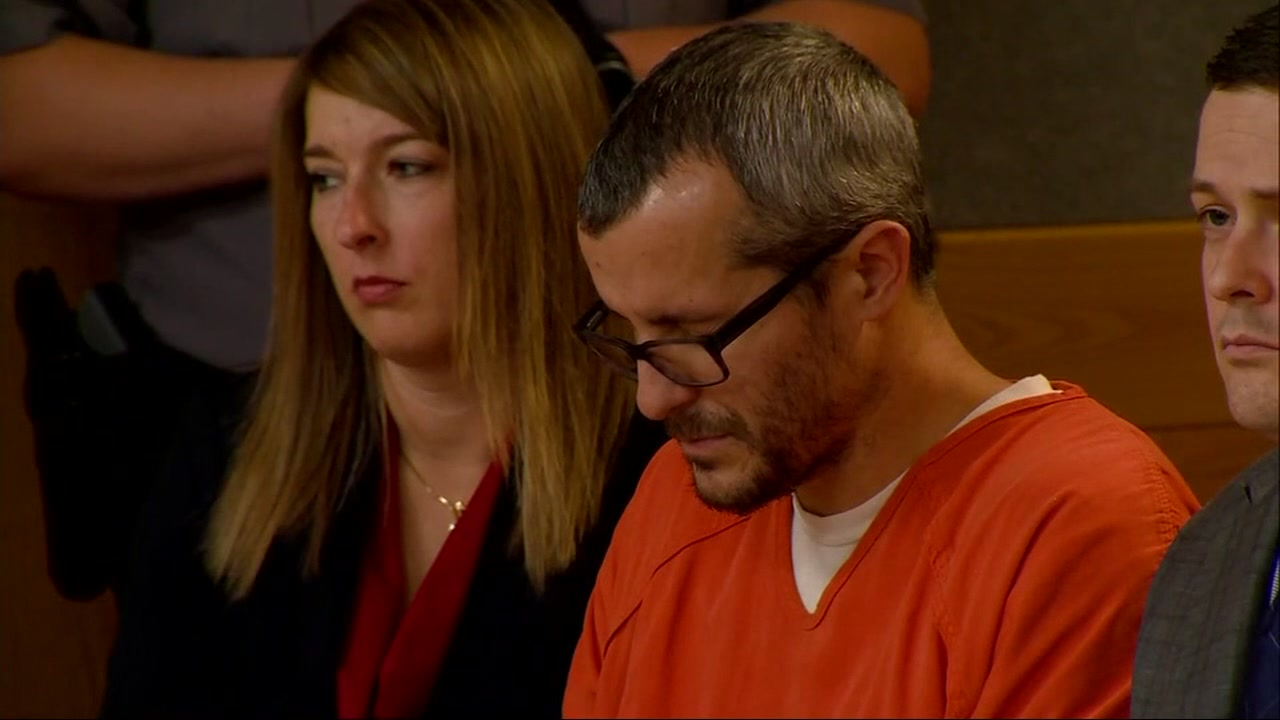 Chris Watts was sentenced Monday. His parents and those of his wife, Shanann both spoke.