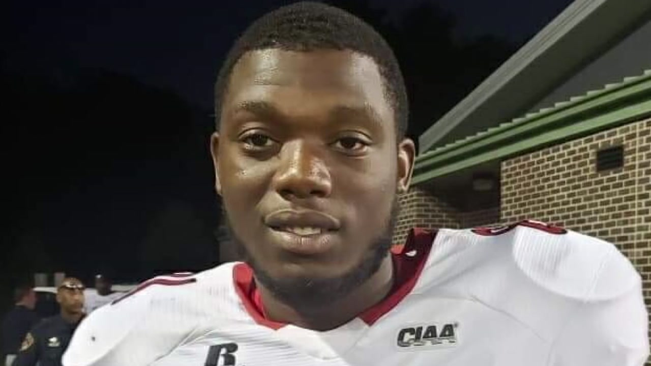 WSSU football player dies in Fayetteville crash.