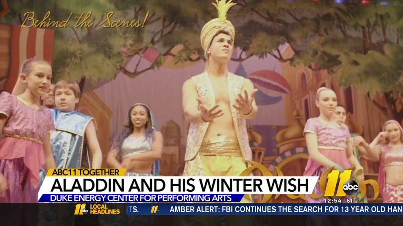 Aladdin and His Winter Wish
