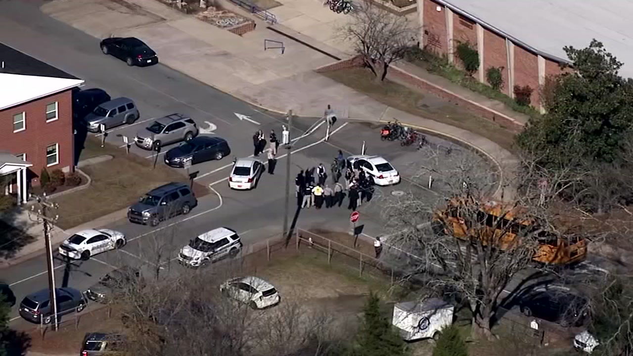 No shooter, but plenty of fear at Carrboro school.