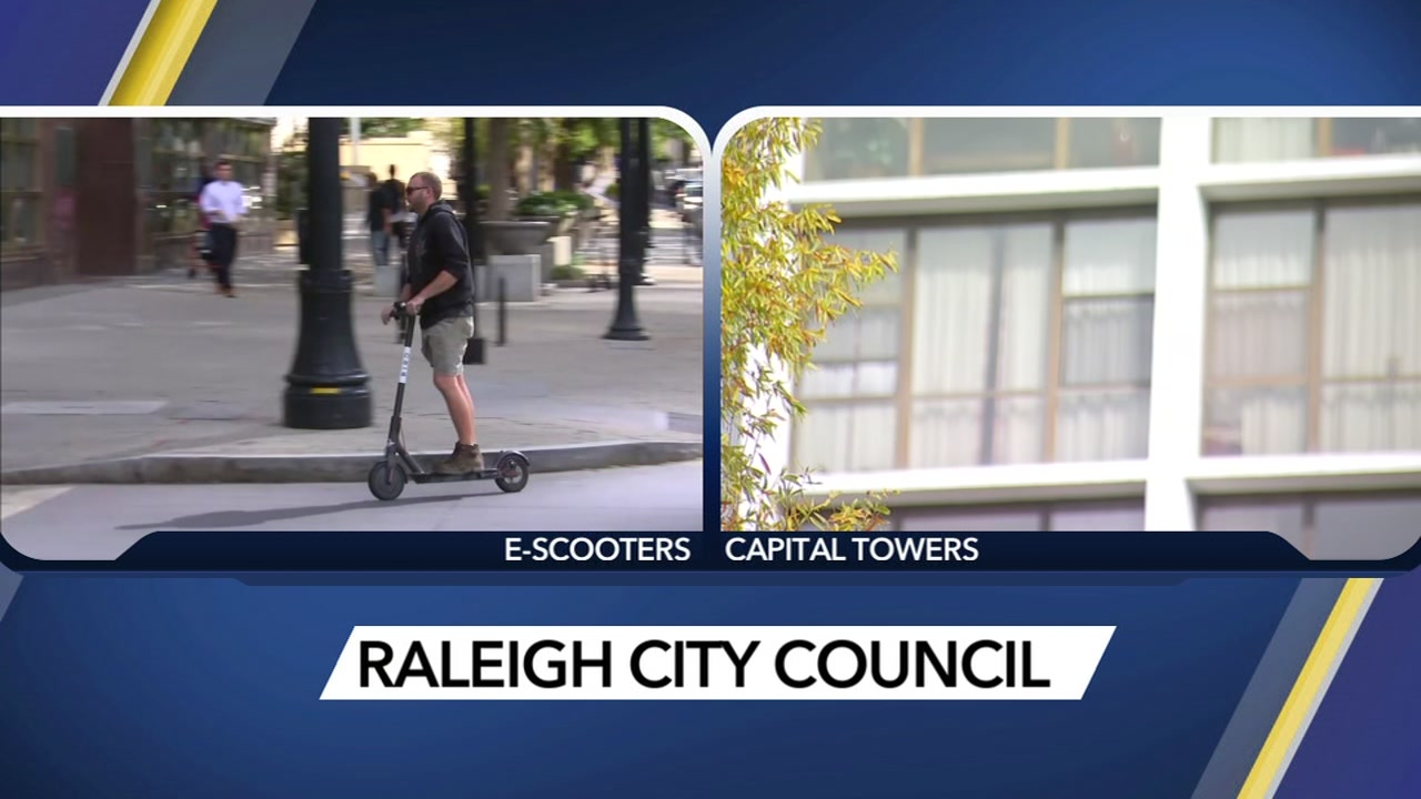 The Raleigh City Council authorized a change in the traffic code to allow motorized scooters in bicycle lanes.