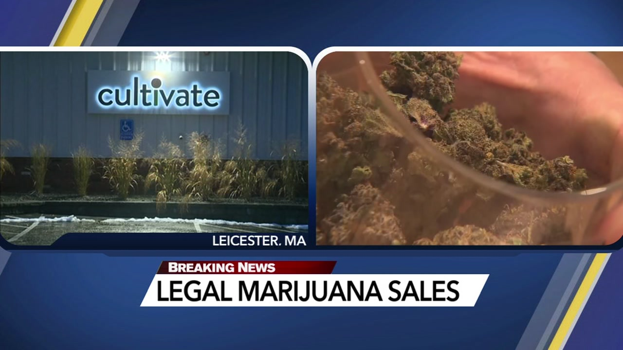 Recreational marijuana for adults is legal in Massachusetts.