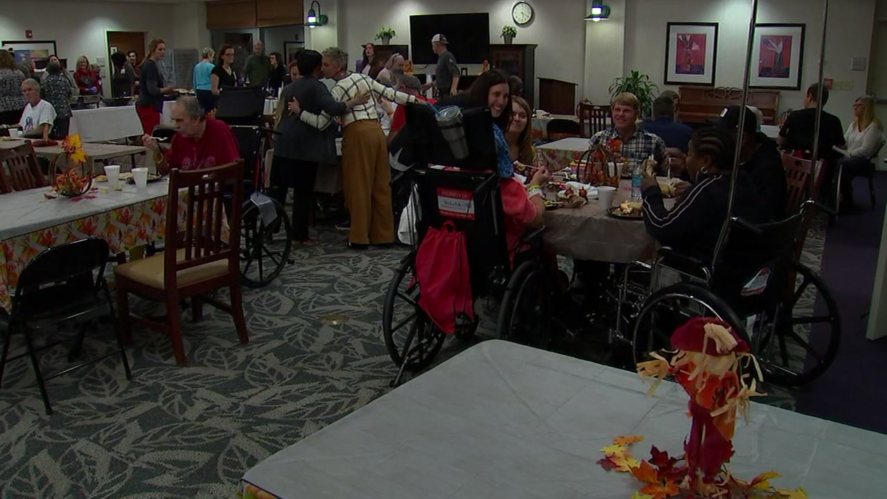 Throwing a Thanksgiving dinner for more than 70 patients and their families takes a lot of work.