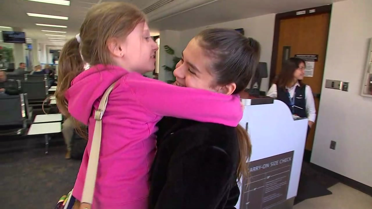 Two sisters get a joyful reunion for holidays.